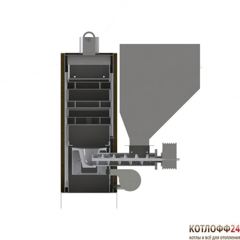 Автоматический котёл Optimum Uni-Max 208